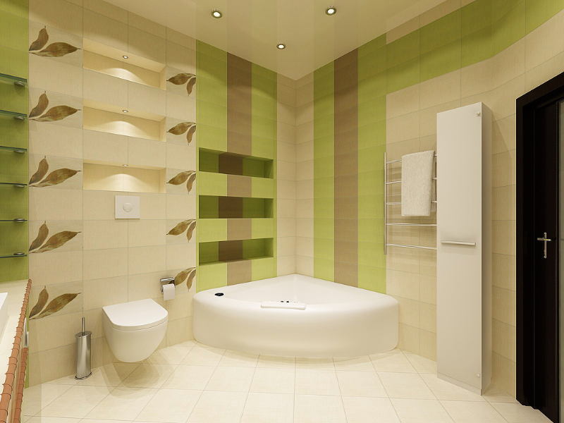 дизайн ванных комнат совмещенных с туалетом фото из панелей #4